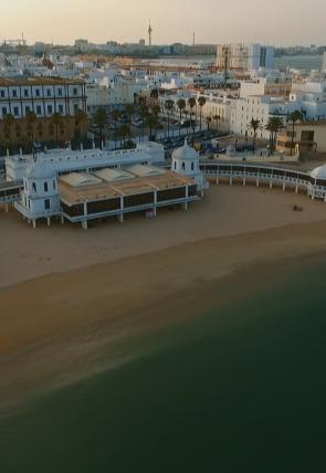 La Caleta, la playa de los gaditanos