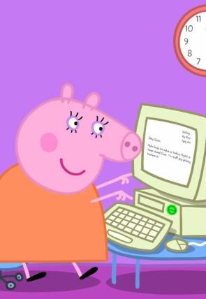 El trabajo de Mamá Pig