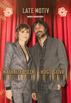 Nathalie Poza y Hugo Silva