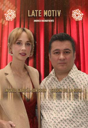 Secun de la Rosa e Ingrid García-Jonsson