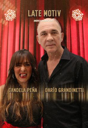 Darío Grandinetti y Candela Peña