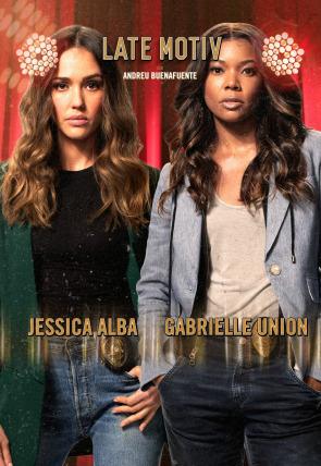 Jessica Alba y Gabrielle Union