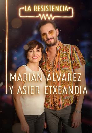 Marian Álvarez y Asier Etxeandia
