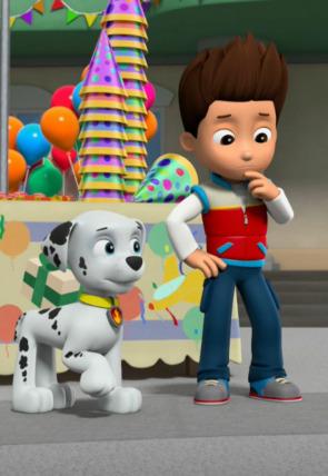 La patrulla salva la sorpresa de cumpleaños de Ace / La patrulla salva una torre de pizza