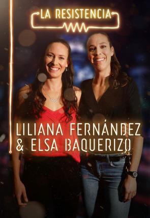 Liliana Fernández y Elsa Baquerizo