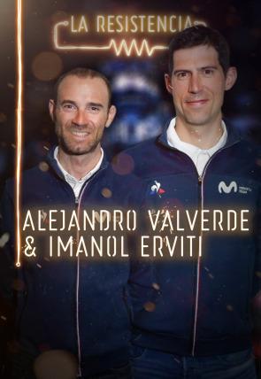 Alejandro Valverde e Imanol Erviti