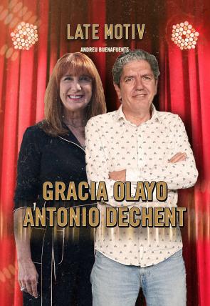 Gracia Olayo y Antonio Dechent