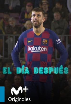 Piqué sostiene al Barça