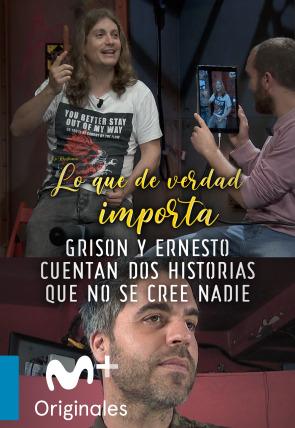 Grison y Ernesto Sevilla -