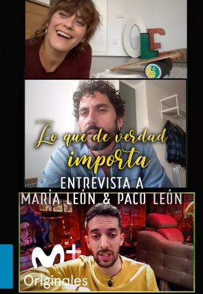 María y Paco León - Entrevista - 20.04.20
