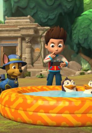 La patrulla salva a los pingüinos de la jungla / La patrulla salva un carguero