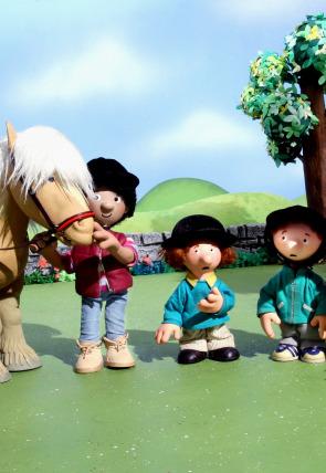 Cartero Paco y el pony express