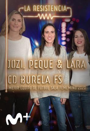 Las jugadoras del C. D. Burela