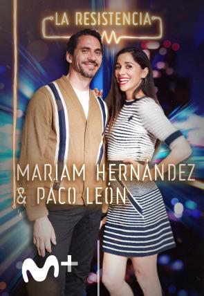 Mariam Hernández y Paco León