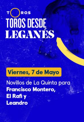 Novillos de La Quinta para Francisco Montero, El Rafi y Leandro (07/05/2021)