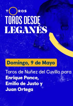 Toros de Nuñez del Cuvillo para Enrique Ponce, Emilio de Justo y Juan Ortega (09/05/2021)