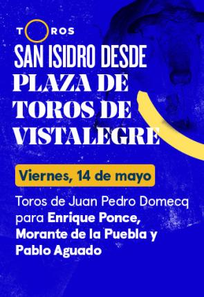 Toros de Juan Pedro Domecq para Enrique Ponce, Morante de la Puebla Pablo Aguado (14/05/2021)