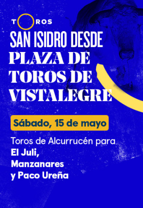 Toros de Alcurrucén para El Juli, Manzanares y Paco Ureña (15/05/2021)