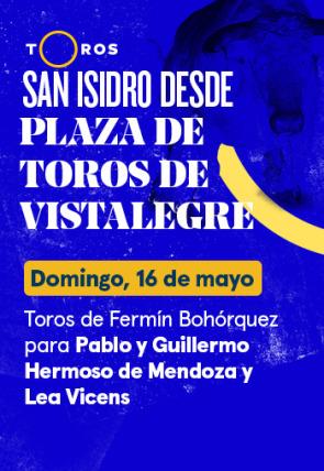Toros de Fermín Bohórquez para Pablo y Guillermo Hermoso de Mendoza y Lea Vicens (16/05/2021)