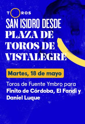 Toros de Fuente Ymbro para Finito de Córdoba, El Fandi y Daniel Luque (18/05/2021)