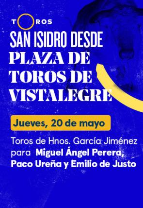 Toros de Hnos. García Jiménez para Miguel Ángel Perera, Paco Ureña y Emilio de Justo (20/05/2021)