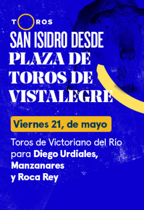 Toros de Victoriano del Río para Diego Urdiales, Manzanares y Roca Rey (21/05/2021)