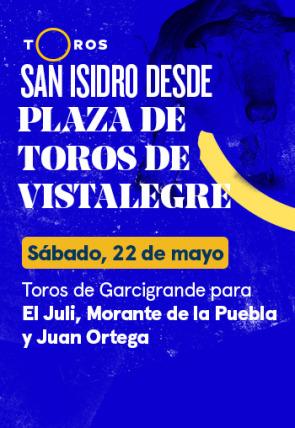 Toros de Garcigrande para El Juli, Morante de la Puebla y Juan Ortega (22/05/2021)