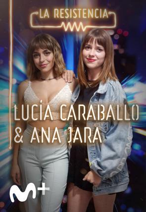 Ana Jara y Lucía Caraballo