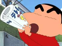 Shin Chan (T1) - Ep.494 Mamá descubre el yogur milagroso / Kazama y yo hacemos un trato / Mamá se aficiona a la...