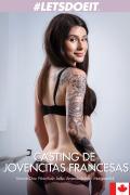 Casting de jovencitas francesas