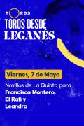 Toros desde La Cubierta de Leganés(T2021) - Previa (07/05/2021)