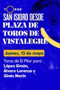 Feria de San Isidro, Vistalegre(T2021) - Previa (13/05/2021)