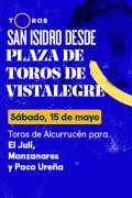 Feria de San Isidro, Vistalegre(T2021) - Previa (15/05/2021)